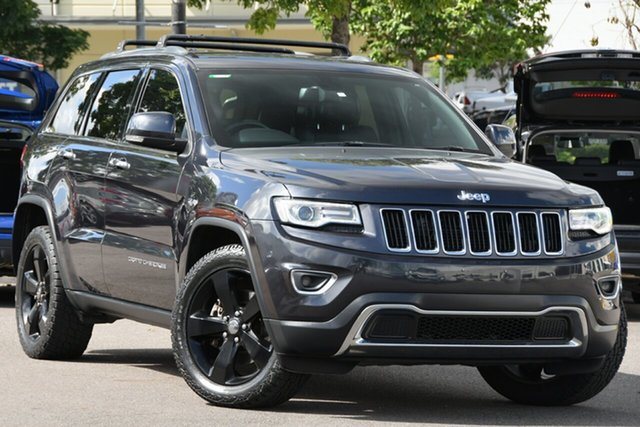 Used Jeep Grand Cherokee WK MY2014 Limited Windsor, 2013 Jeep Grand Cherokee WK MY2014 Limited Grey 8 Speed Sports Automatic Wagon