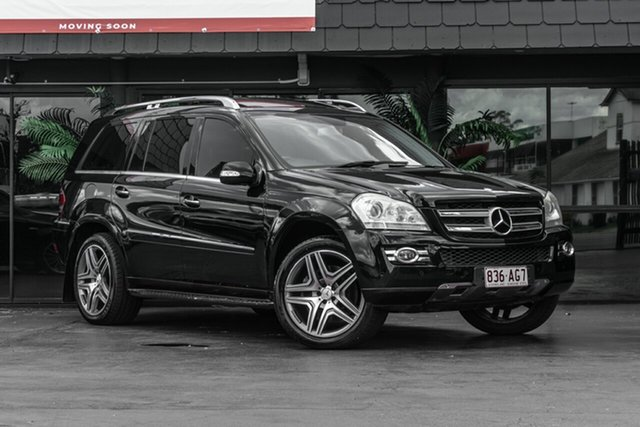 Used Mercedes-Benz GL-Class X164 GL500 Bowen Hills, 2007 Mercedes-Benz GL-Class X164 GL500 Black 7 Speed Sports Automatic Wagon