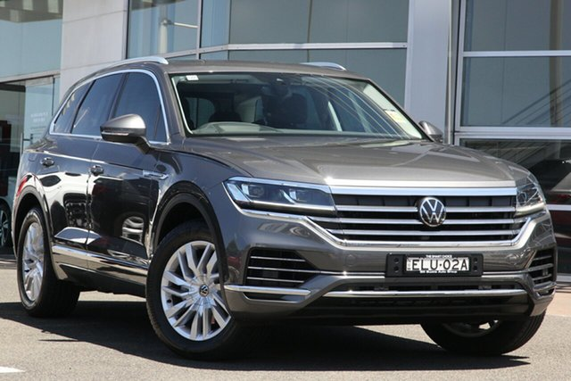 Demo Volkswagen Touareg CR MY21 170TDI Tiptronic 4MOTION Brookvale, 2020 Volkswagen Touareg CR MY21 170TDI Tiptronic 4MOTION Silicone Grey 8 Speed Sports Automatic