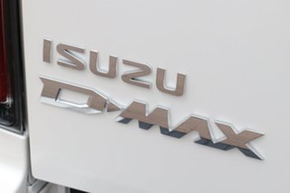 2020 Isuzu D-MAX RG MY21 LS-U Crew Cab Marble White 6 Speed Sports Automatic Utility