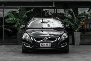 2011 Volvo V60 F Series MY12 T6 Geartronic AWD Black 6 Speed Sports Automatic Wagon.