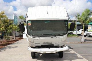 2009 Isuzu NPS300 White Manual Tray Truck