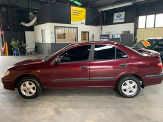 2002 Nissan Pulsar N16 LX Plus Maroon 5 Speed Manual Sedan