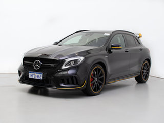 2017 Mercedes-AMG GLA 45 AMG 4MATIC X156 MY17.5 Black 7 Speed Auto Dual Clutch Wagon.