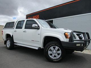 2011 Holden Colorado RC MY11 LT-R Crew Cab White 5 Speed Manual Utility.
