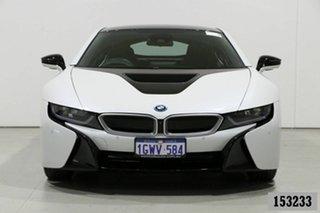 2015 BMW i8 I12 PHEV White 6 Speed Automatic Coupe.