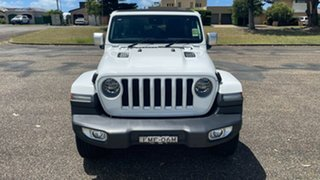 2020 Jeep Wrangler JL MY21 Unlimited Overland Bright White 8 Speed Automatic Hardtop.
