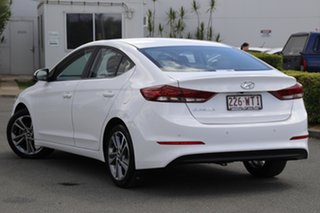 2016 Hyundai Elantra AD MY17 Elite Polar White 6 Speed Sports Automatic Sedan.
