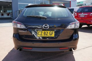 2010 Mazda 6 GH MY10 Touring Black 5 Speed Auto Activematic Wagon