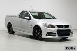 2014 Holden Ute VF SS-V Redline Silver 6 Speed Automatic Utility.