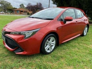 2018 Toyota Corolla Corolla Hatch Hybrid Ascent Sport 1.8L Auto CVT 5 Door Volcanic Red Hatchback