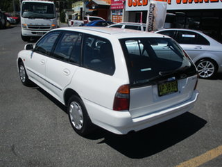 2001 Mitsubishi Lancer CE GLXi White 4 Speed Automatic Wagon.
