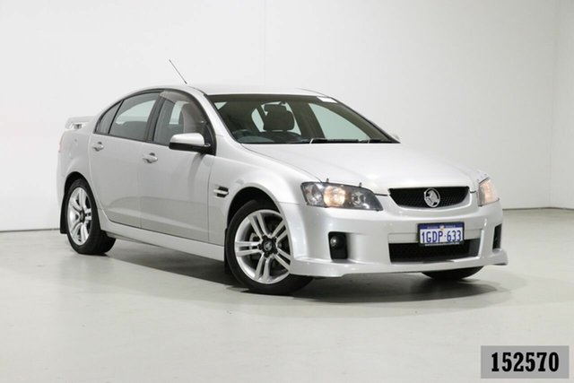 Used Holden Commodore VE MY08 SV6 Bentley, 2008 Holden Commodore VE MY08 SV6 Silver 6 Speed Manual Sedan