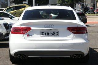2010 Audi S5 8T MY10 Sportback S Tronic Quattro White 7 Speed Sports Automatic Dual Clutch Hatchback