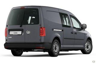 2020 Volkswagen Caddy 2KN MY20 TSI220 Crewvan Maxi DSG Grey 7 Speed Sports Automatic Dual Clutch Van.
