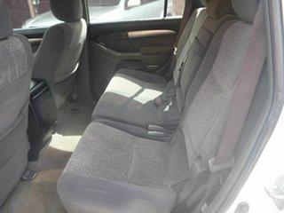 2003 Toyota Landcruiser Prado GRJ120R GX White 4 Speed Automatic Wagon
