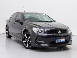 2016 Holden Commodore Vfii MY16 SV6 Black Edition Black 6 Speed Automatic Sedan.
