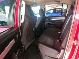 2015 Toyota Hilux GUN126R SR5 (4x4) Olympia Red 6 Speed Manual Dual Cab Utility
