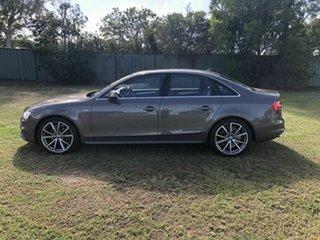 2015 Audi A4 B8 8K MY15 S Line S Tronic Quattro Bronze 7 Speed Sports Automatic Dual Clutch Sedan