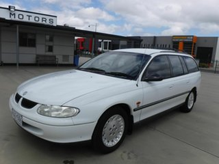 1999 Holden Commodore VT Equipe White 4 Speed Automatic Wagon