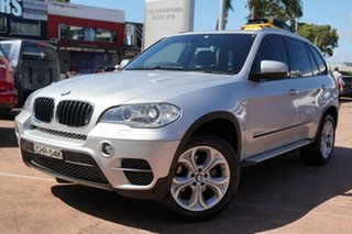2011 BMW X5 E70 MY10 xDrive30d Silver 8 Speed Automatic Sequential Wagon