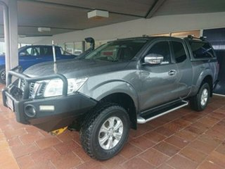 2016 Nissan Navara D23 Series II ST (4x4) Grey 6 Speed Manual King Cab Utility