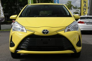 2017 Toyota Yaris NCP130R Ascent Yellow 4 Speed Automatic Hatchback