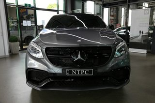 2017 Mercedes-Benz GLE-Class C292 MY808 GLE63 AMG Coupe SPEEDSHIFT PLUS 4MATIC S Grey 7 Speed