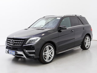 2014 Mercedes-Benz ML350 CDI BlueTEC 166 4x4 Black 7 Speed Automatic Wagon.
