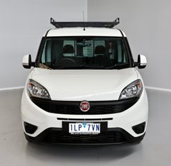 2017 Fiat Doblo 263 Series 1 Low Roof SWB Comfort-matic White 5 Speed Sports Automatic Single Clutch.