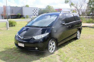 2007 Toyota Tarago ACR50R GLX Black 4 Speed Sports Automatic Wagon.
