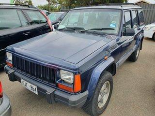 1996 Jeep Cherokee XJ Classic Blue 4 Speed Automatic Wagon.