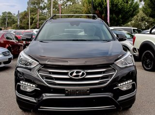 2016 Hyundai Santa Fe DM3 MY16 Highlander Black 6 Speed Sports Automatic Wagon