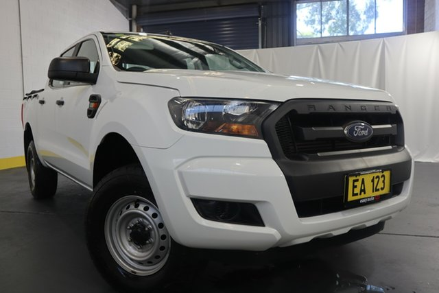 Used Ford Ranger PX MkII XL Castle Hill, 2016 Ford Ranger PX MkII XL White 6 Speed Sports Automatic Utility