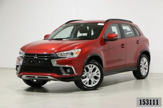2018 Mitsubishi ASX XC MY19 ES ADAS ( 2WD) Red Continuous Variable Wagon.