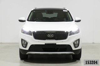 2017 Kia Sorento UM MY17 Platinum (4x4) White 6 Speed Automatic Wagon.