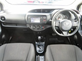 2018 Toyota Yaris NCP130R Ascent Silver 4 Speed Automatic Hatchback