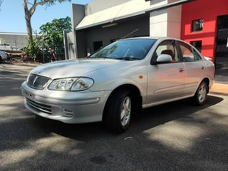 2000 Nissan Pulsar N16 TI Metallic Silver 4 Speed Automatic Sedan
