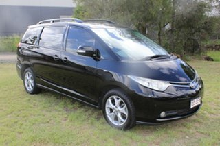 2007 Toyota Tarago ACR50R GLX Black 4 Speed Sports Automatic Wagon