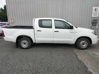 2009 Toyota Hilux GGN15R MY09 SR 4x2 5 Speed Automatic Cab Chassis.
