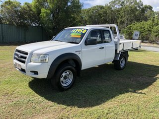 2008 Ford Ranger 4x2 White Manual Spacecab.