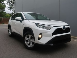 2019 Toyota RAV4 Axah52R GX 2WD White 6 Speed Constant Variable Wagon Hybrid.