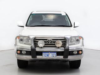 2013 Toyota Landcruiser VDJ200R MY12 VX (4x4) White 6 Speed Automatic Wagon.