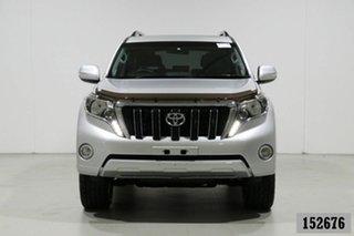 2017 Toyota Landcruiser GDJ150R Prado Altitude Spl Edt Silver 6 Speed Automatic Wagon.