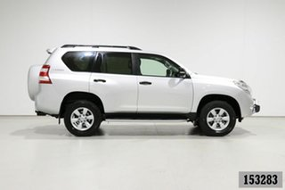 2014 Toyota Landcruiser Prado KDJ150R MY14 GX (4x4) Silver 5 Speed Sequential Auto Wagon