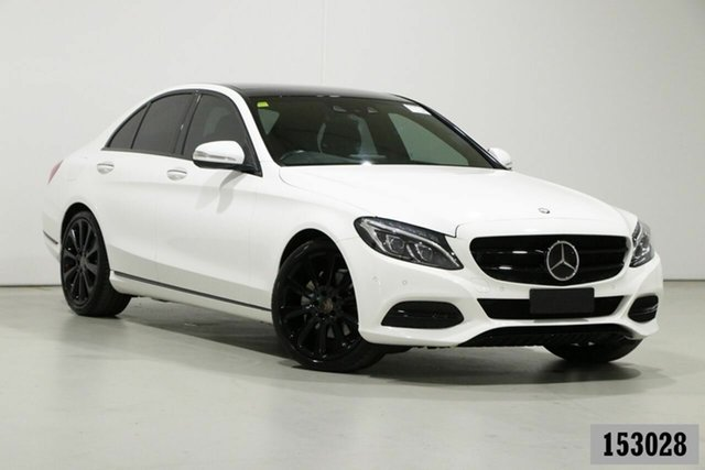 Used Mercedes-Benz C250 205 BlueTEC Bentley, 2014 Mercedes-Benz C250 205 BlueTEC Polar White 7 Speed Automatic Sedan