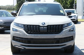 2020 Skoda Kodiaq NS MY21 132TSI DSG Sportline Quartz Grey 7 Speed Sports Automatic Dual Clutch