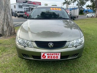 2002 Holden Commodore VY Executive Gold 4 Speed Automatic Sedan