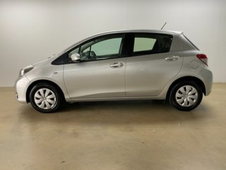 2011 Toyota Yaris NCP130R YR Silver 4 Speed Automatic Hatchback