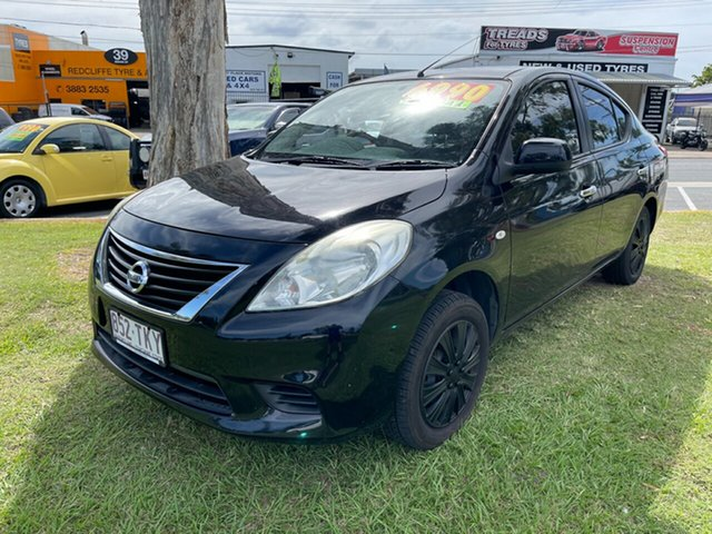 Used Nissan Almera N17 ST Clontarf, 2012 Nissan Almera N17 ST Black 5 Speed Manual Sedan